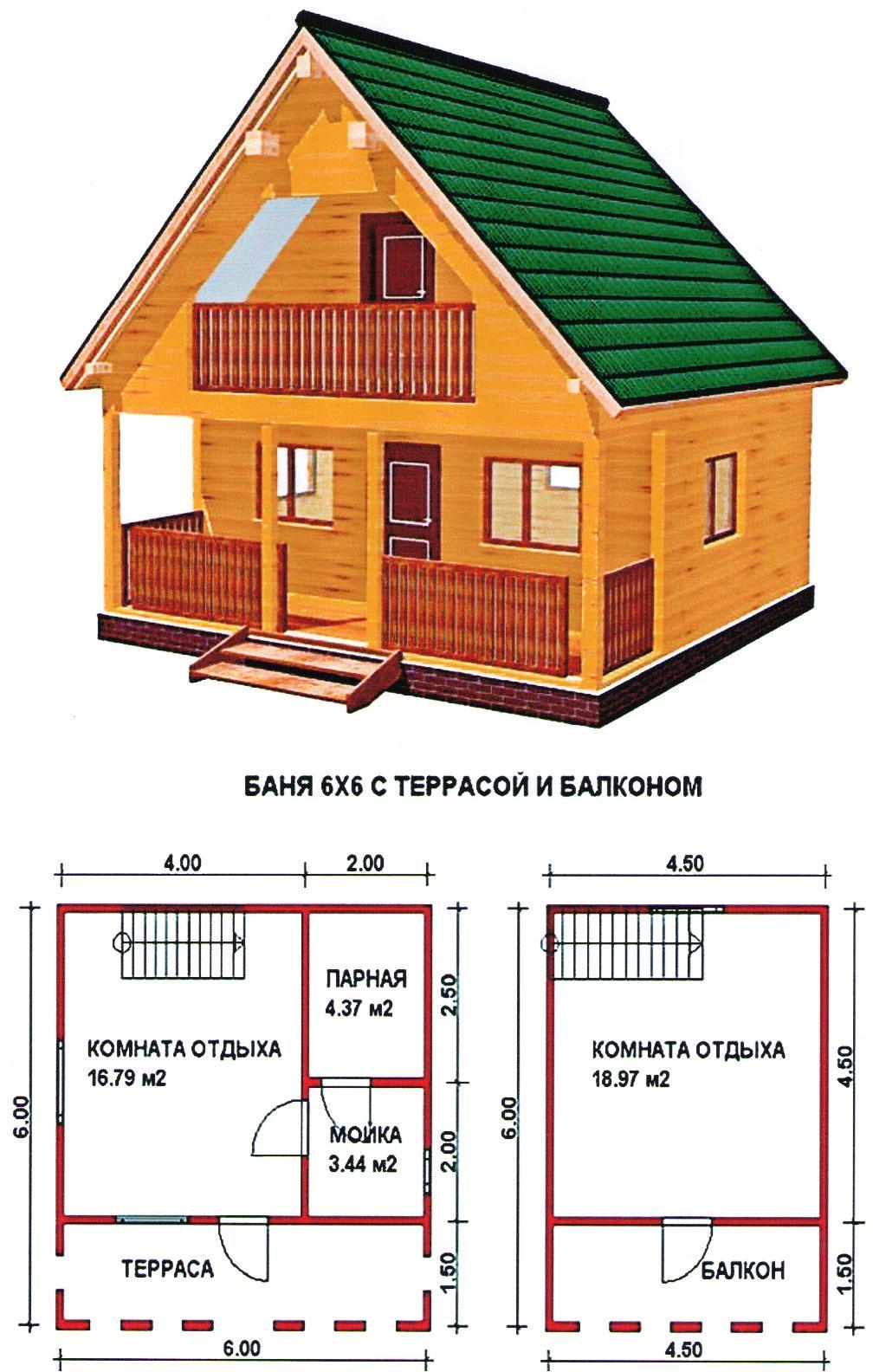 Баня строительство проекты